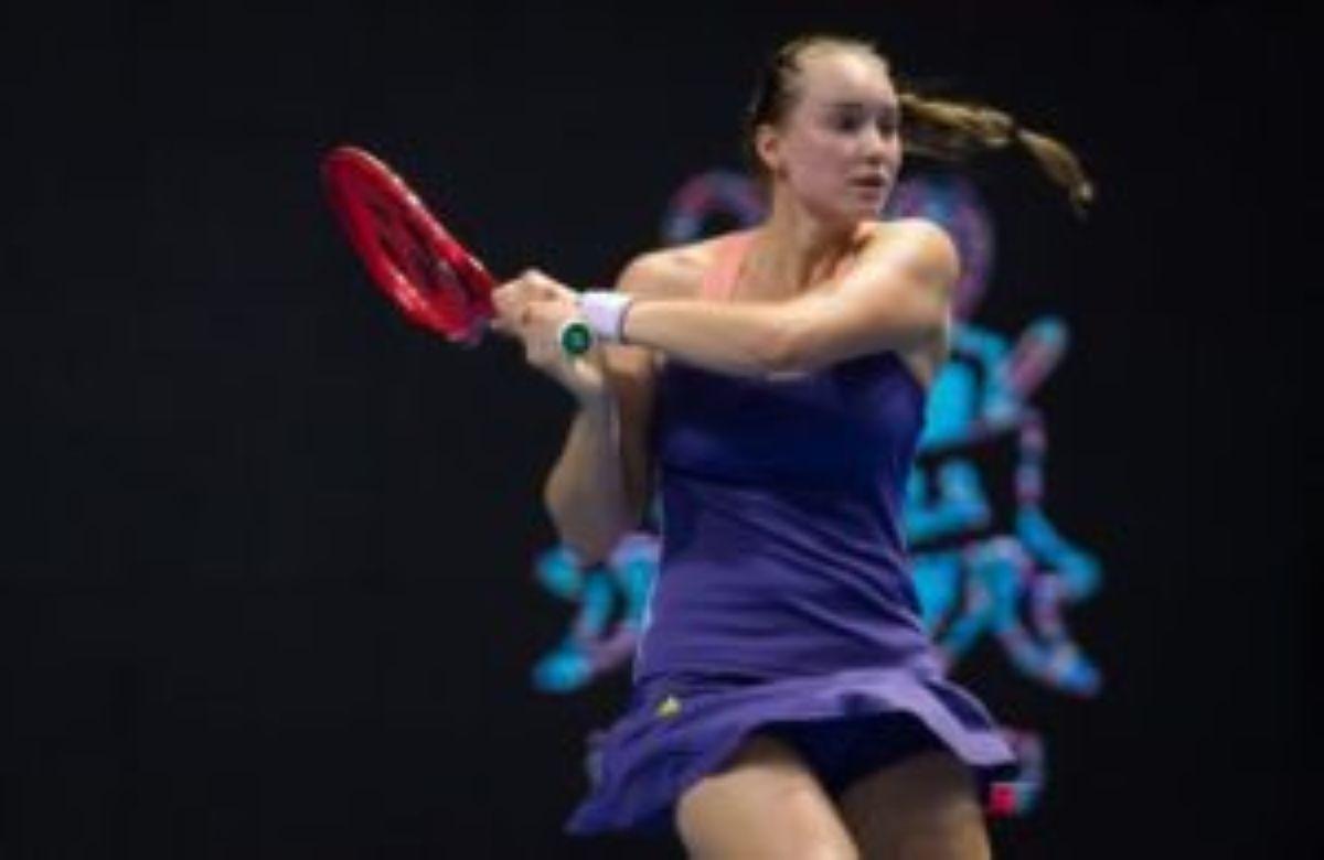 Қазақстандық теннисші Елена Рыбакина Санкт-Петербургтегі WTA Premier турнирінің жартылай финалына шықты