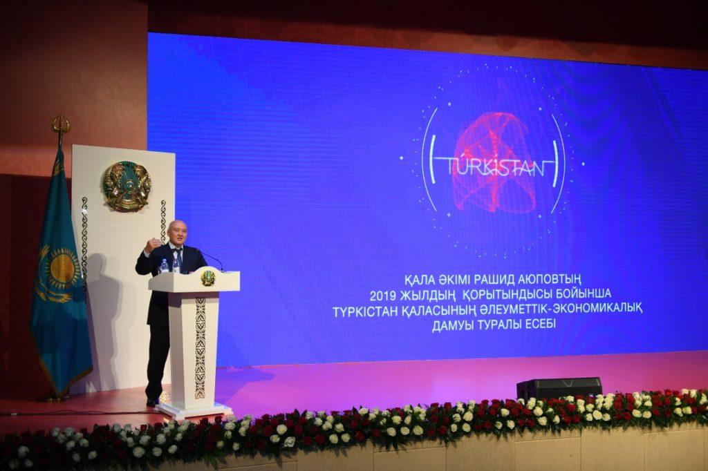 Түркістан – Елбасының жобасы – Өмірзақ Шөкеев