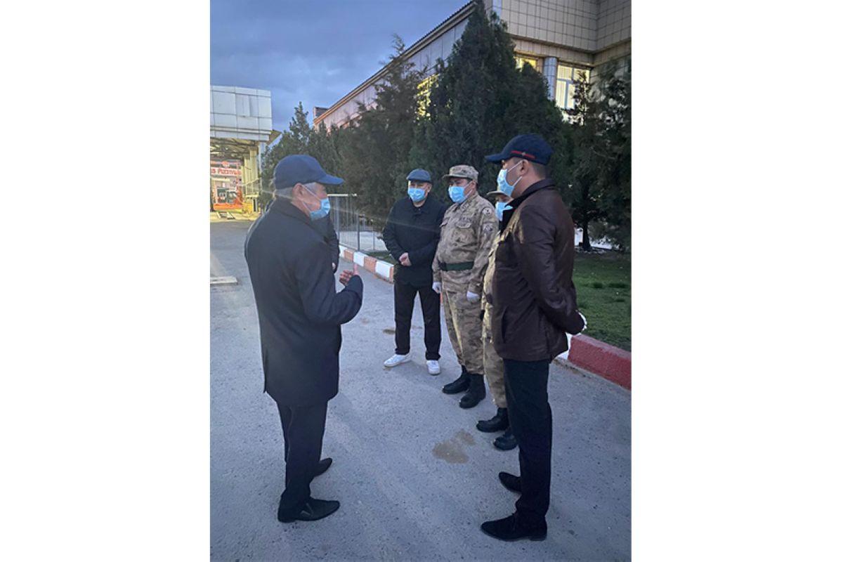 Жамбыл, Қырғызстан, шекара, блок-бекеттер