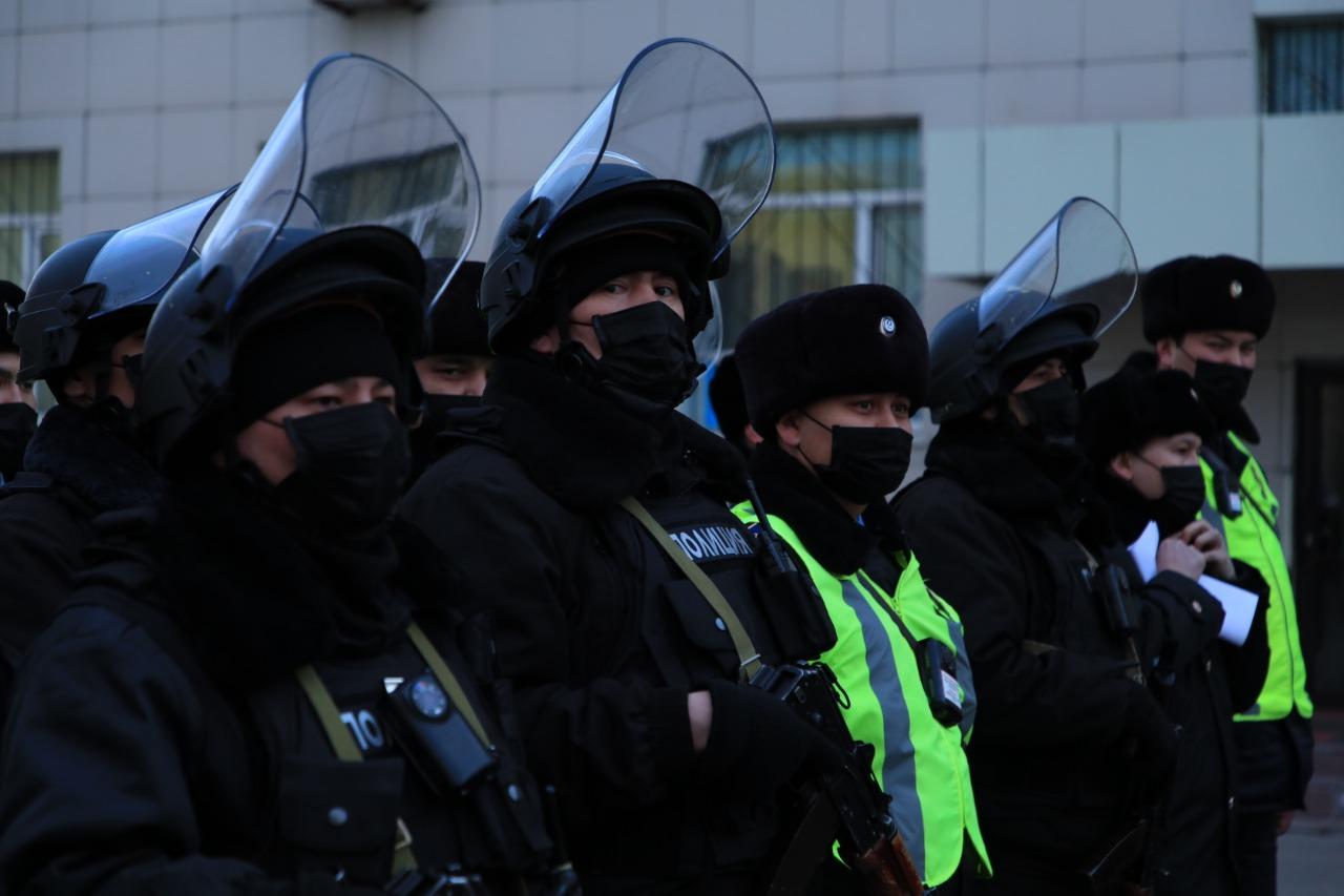 Елордалық полицейлерге нұсқау жасалды