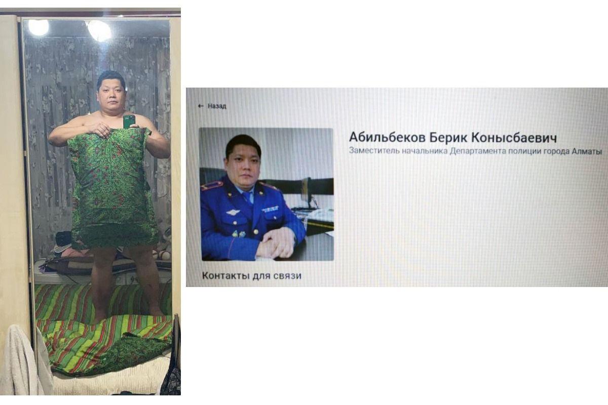 Алматы полиция департаменті басшысының орынбасары «Жастық челленджін» жалғастырды