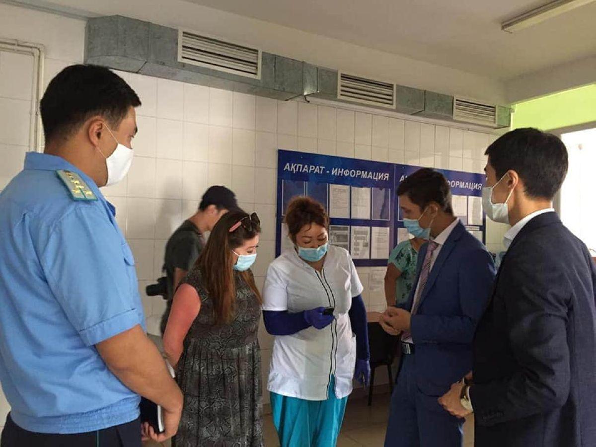 Nur Otan Шығыста дәріханаларға мониторинг жасап, арнайы тексеру жүргізді