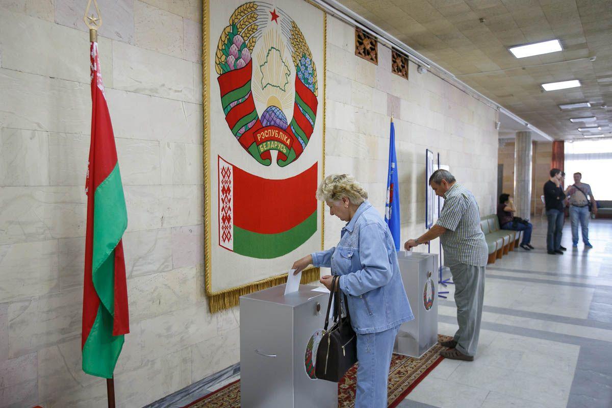 Белорусь - выборы