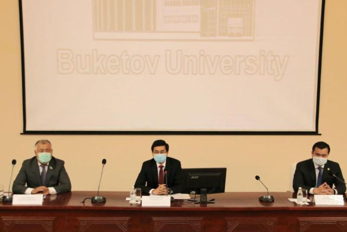 Депутат Қарағанды университетіне ректор болып тағайындалды