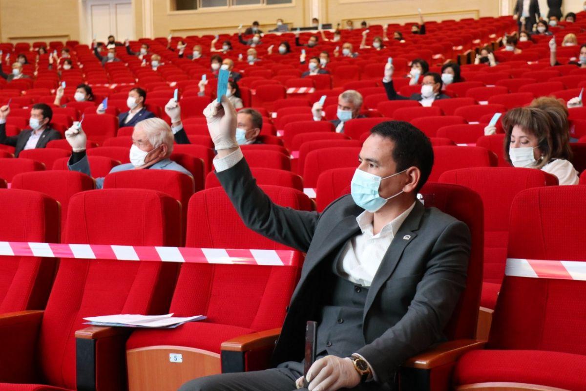 Шымкентте «Nur Otan»-ның қалалық сайлауалды бағдарламасы бекітілді