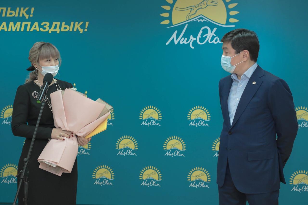 Елордада Nur Otan партиясына салтанатты қабылдау өтті