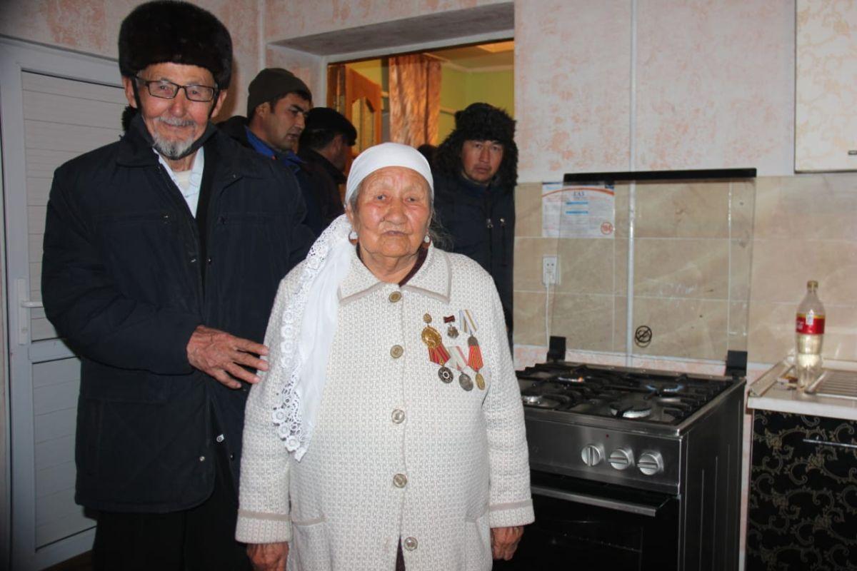 Қаракемер ауылына 70 жыл күткен газ берілді