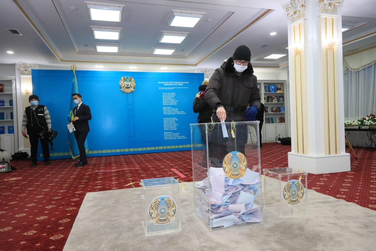 Астанада сайлау қалай өтіп жатыр?