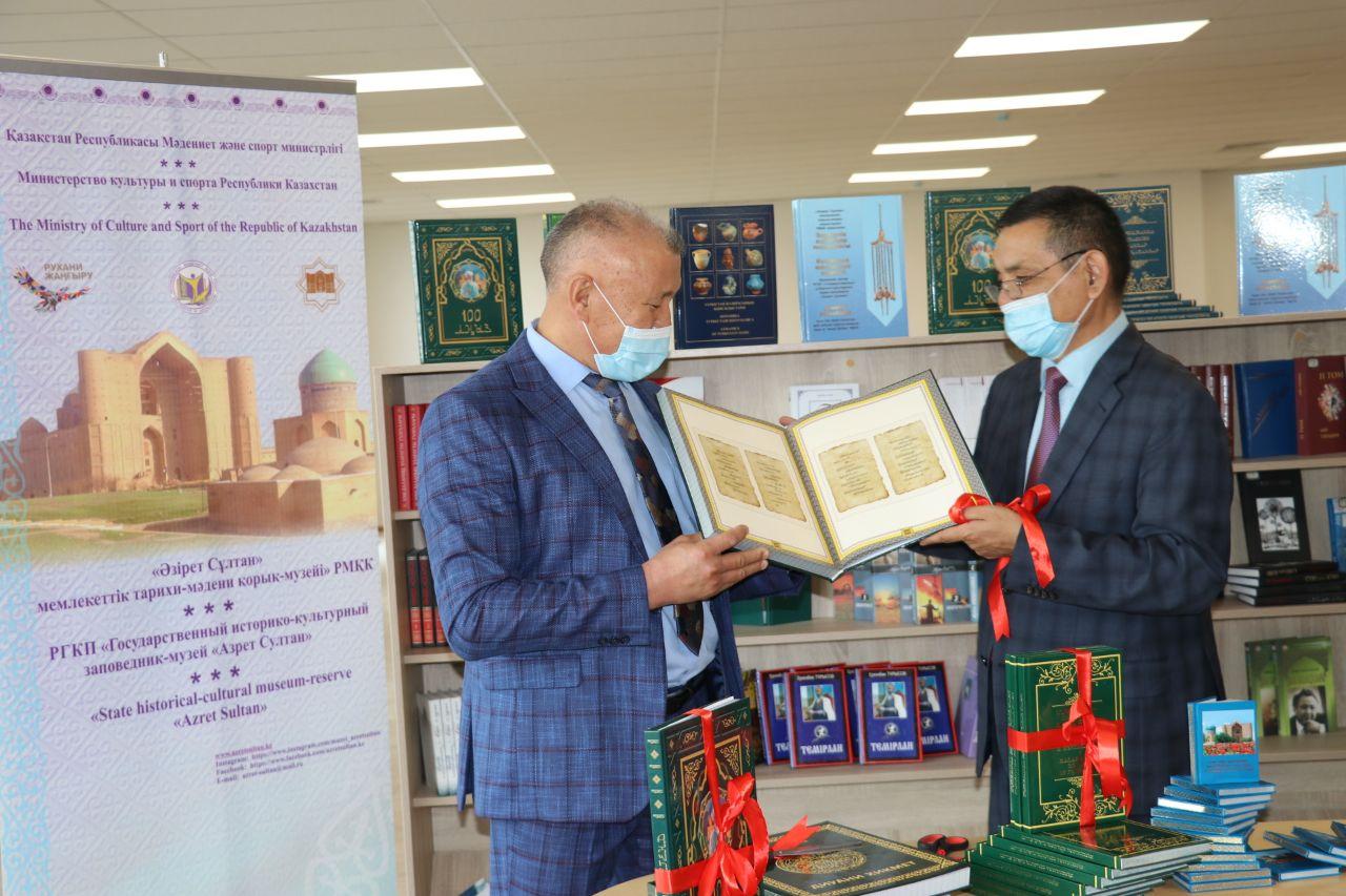Түркістан тарихына қатысты тарихи кітаптардың тұсаукесері өтті 2