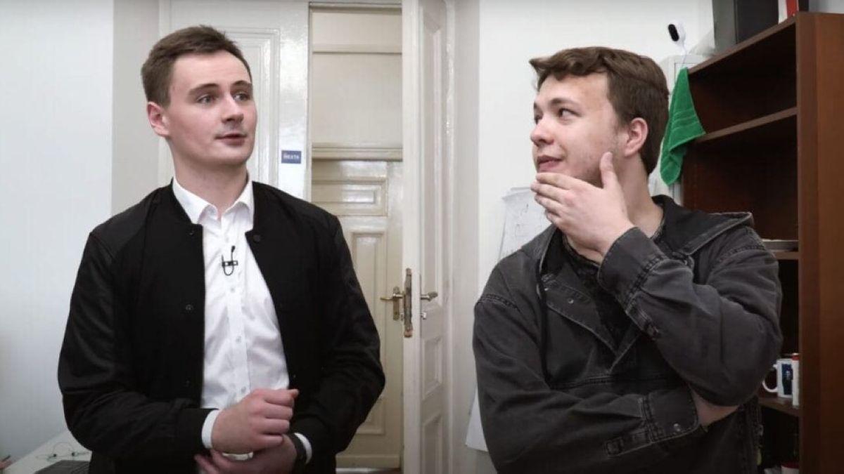 Роман Протасевич пен Степан Путило