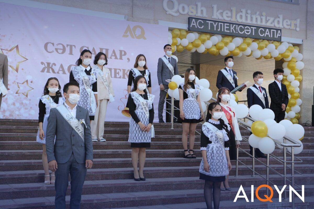 Астанада соңғы қоңырау қалай өтті? - Фоторепортаж 1