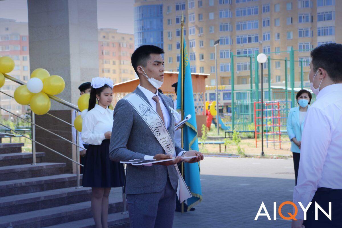 Астанада соңғы қоңырау қалай өтті? - Фоторепортаж 5