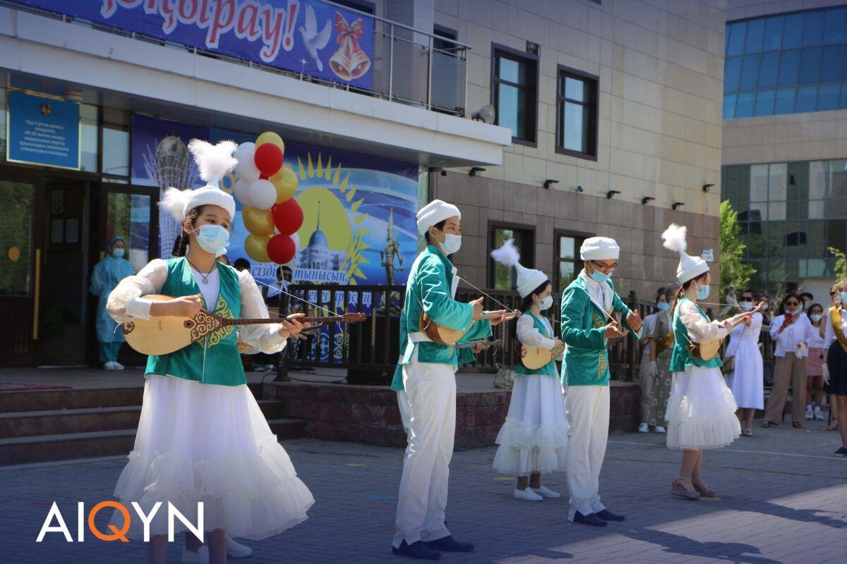 Астанада соңғы қоңырау қалай өтті? - Фоторепортаж 8