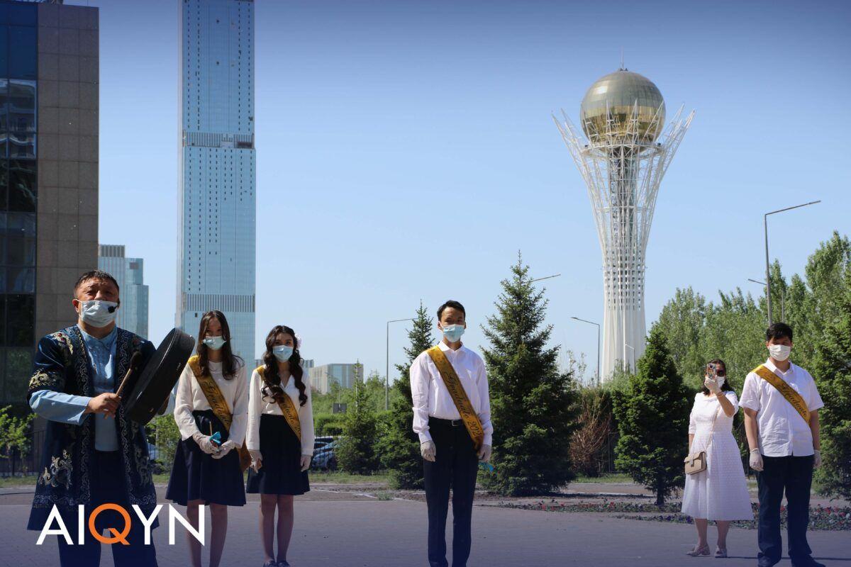 Астанада соңғы қоңырау қалай өтті? - Фоторепортаж 9