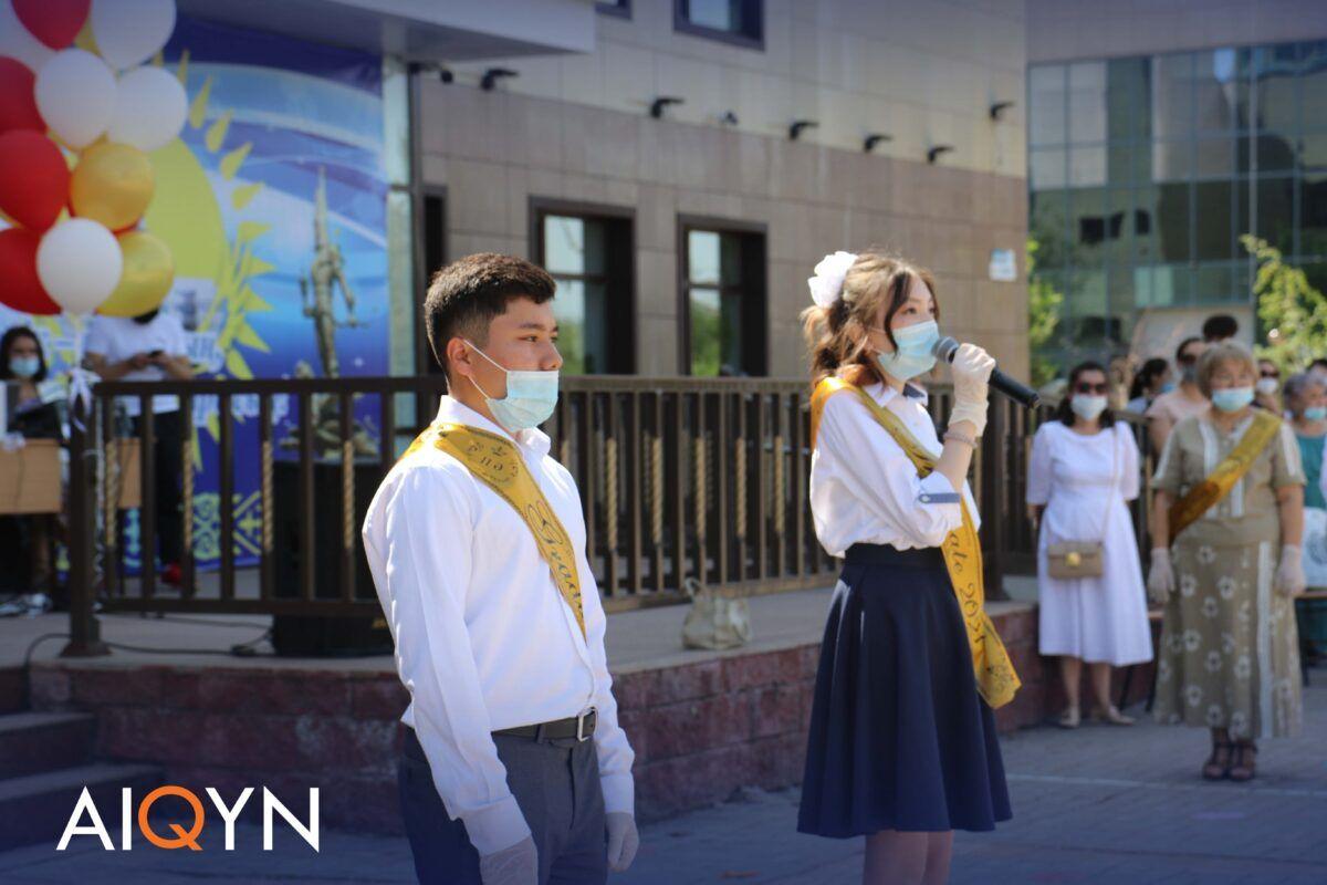 Астанада соңғы қоңырау қалай өтті? - Фоторепортаж 10