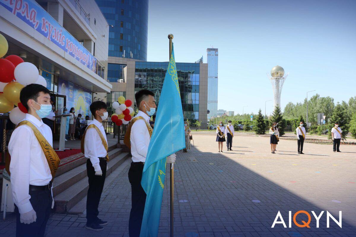 Астанада соңғы қоңырау қалай өтті? - Фоторепортаж 6