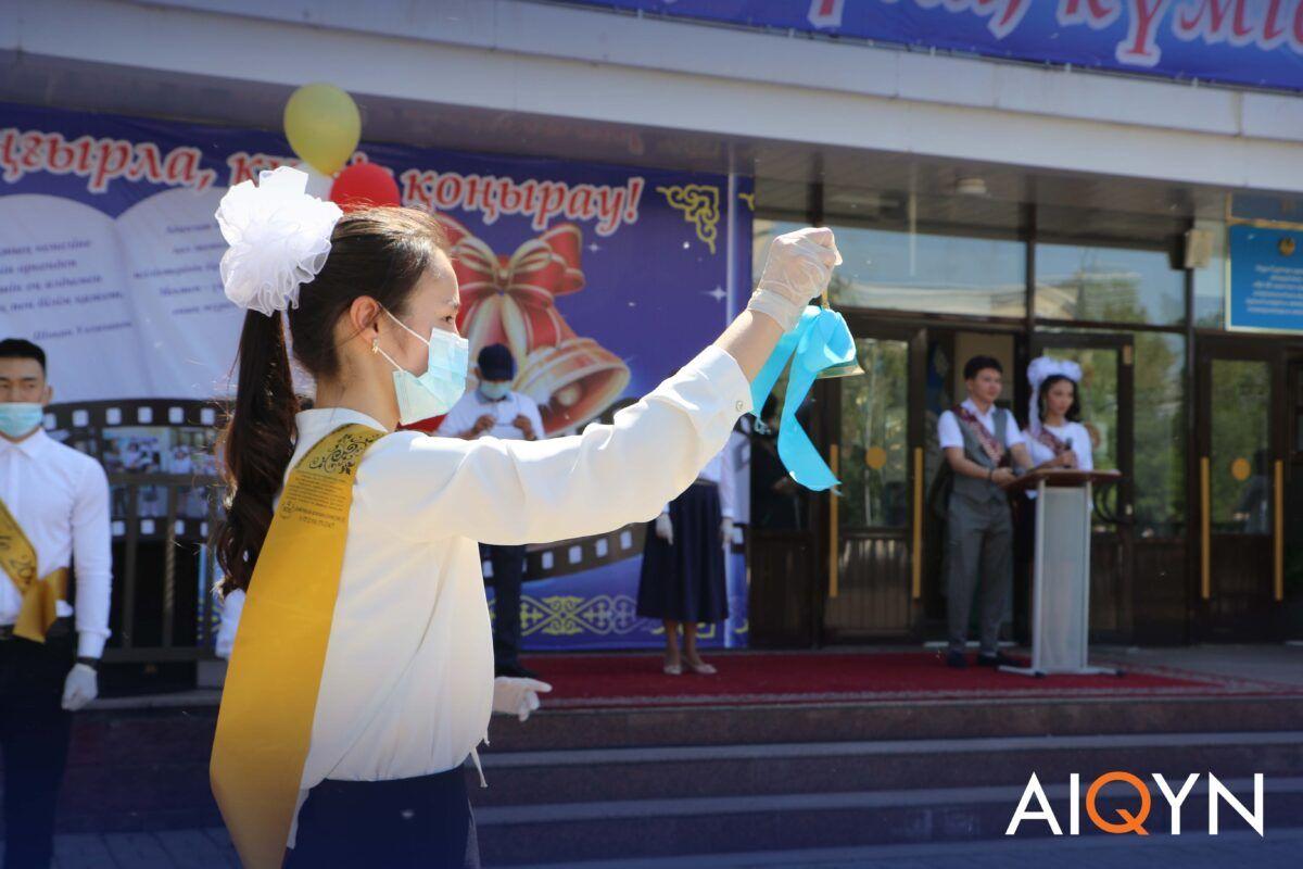 Астанада соңғы қоңырау қалай өтті? - Фоторепортаж 7