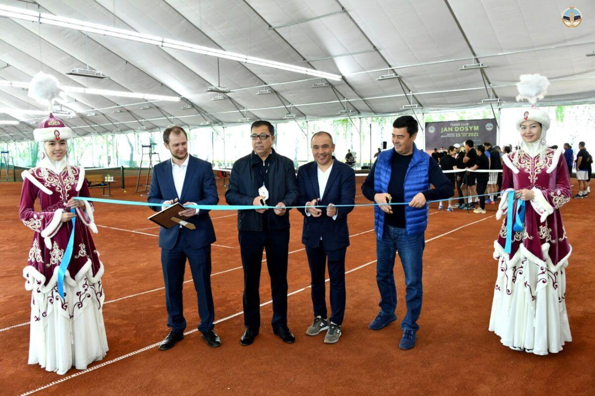 """""""Жан досым"""": ҚазҰУ-да заманауи теннис орталығы ашылды 1"""