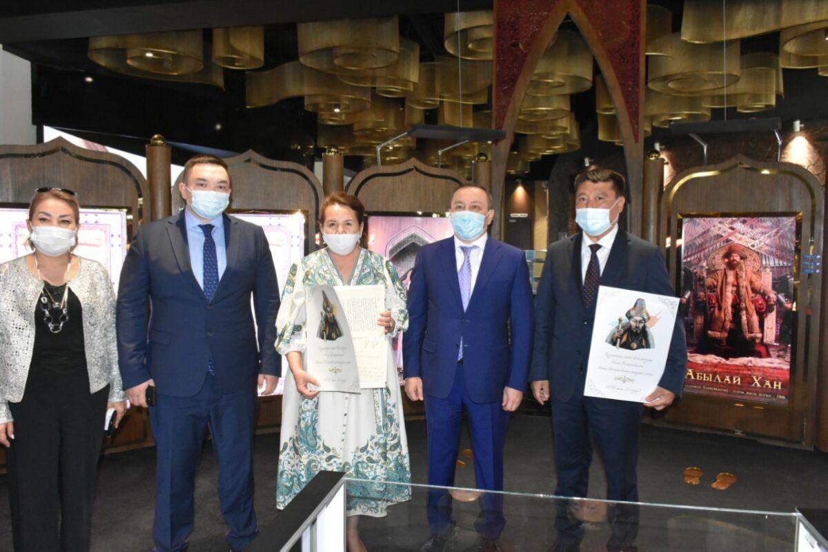 Вице-министр Түркістанда Абылай ханның хатын табыстады 3