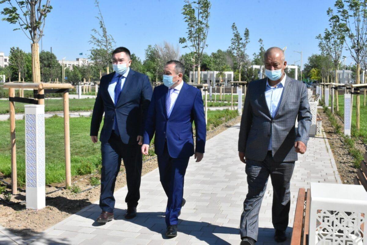 Вице-министр Түркістанда Абылай ханның хатын табыстады 1