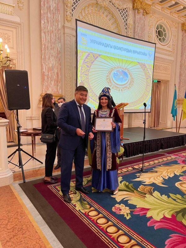Украинадағы Қазақстан елшілігі қазақ диаспорасымен бірлесіп құрылтай өткізді