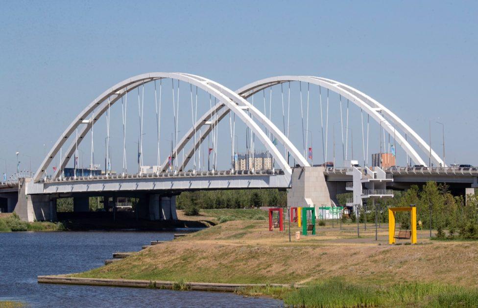 Көпір, Астана, Нұр-Сұлтан, Есіл