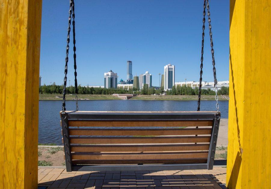 Астана, Нұр-Сұлтан, Есіл