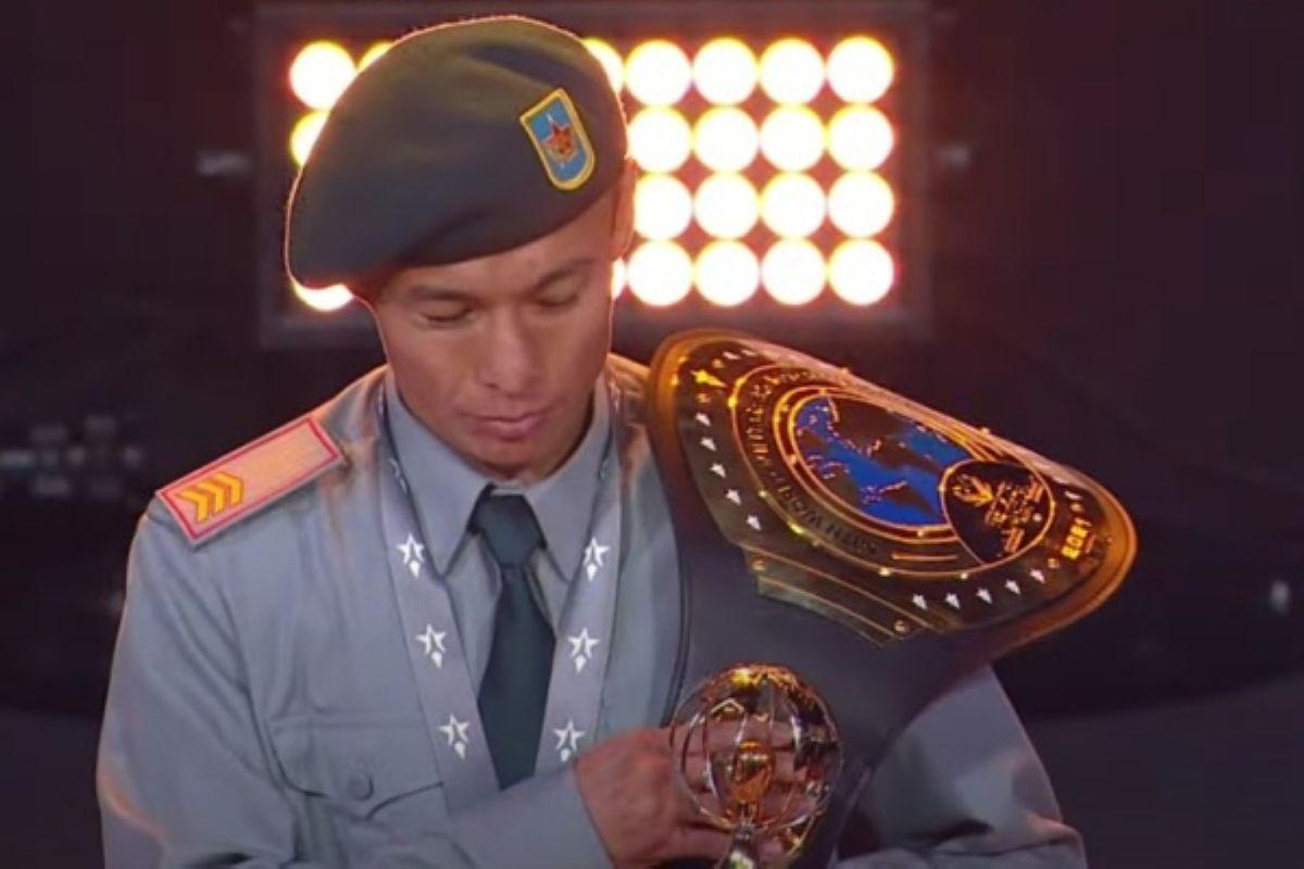 Теміртас Жүсіпов әскери қызметшілер арасында әлем чемпионы атанды